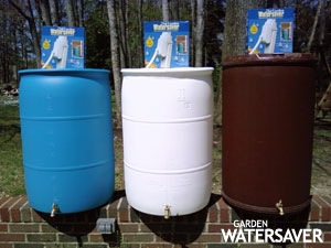 3 types of rain barrel options