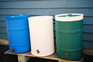 Rainwater Contain Options