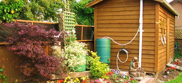 Garden Water Saver The Easiest Way To Collect Rainwater