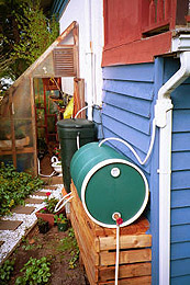 Store Water for a Garden with Garden Watersaver