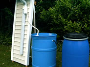 Connected Rain Barrels Ready to Use!