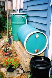 Store Rainwater with Garden Watersaver